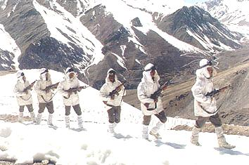 siachen Indian army on Patrol