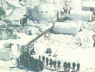 siachen Indian igloos